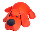 Red toy dog on a white background - PhotoDune Item for Sale