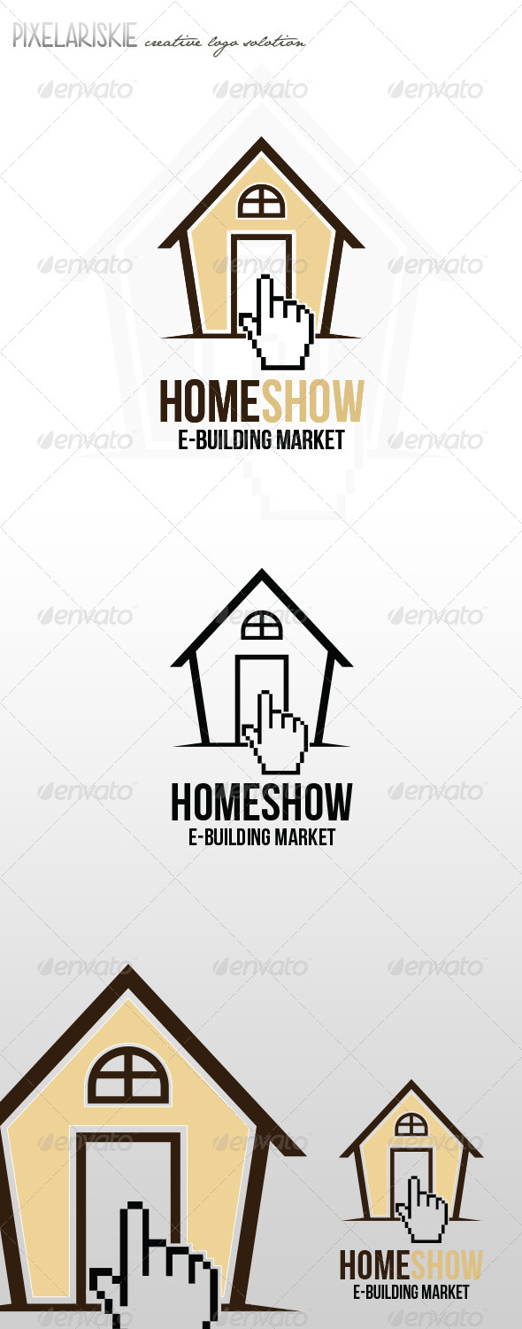 Home Show Logo - Buildings Logo Templates