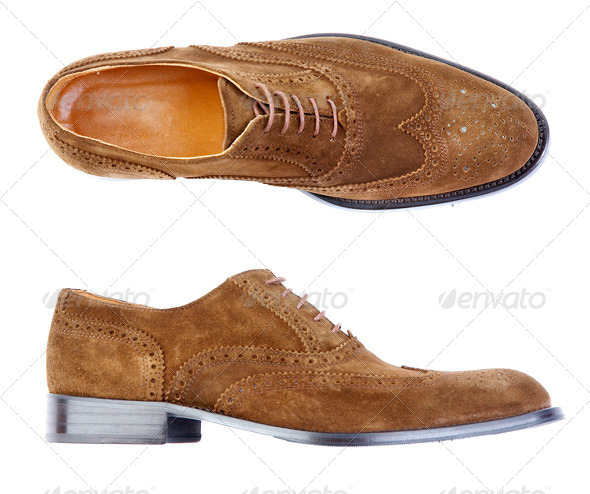 Man's shoe - Stock Photo - Images