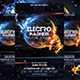 Electro Madness Party Flyer Vol3 - GraphicRiver Item for Sale