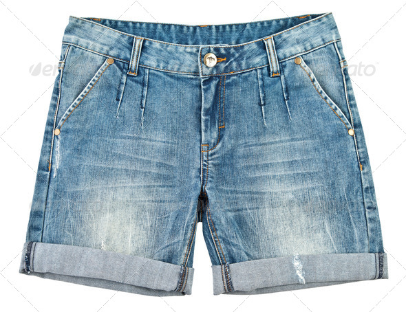 jeans, shorts - Stock Photo - Images