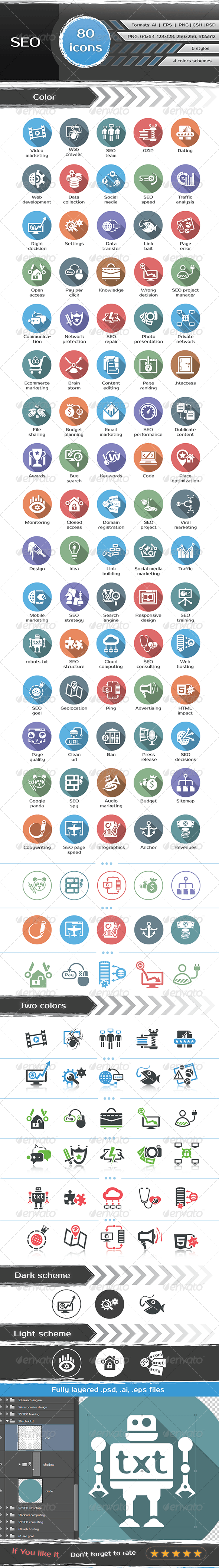SEO Icons - Business Icons