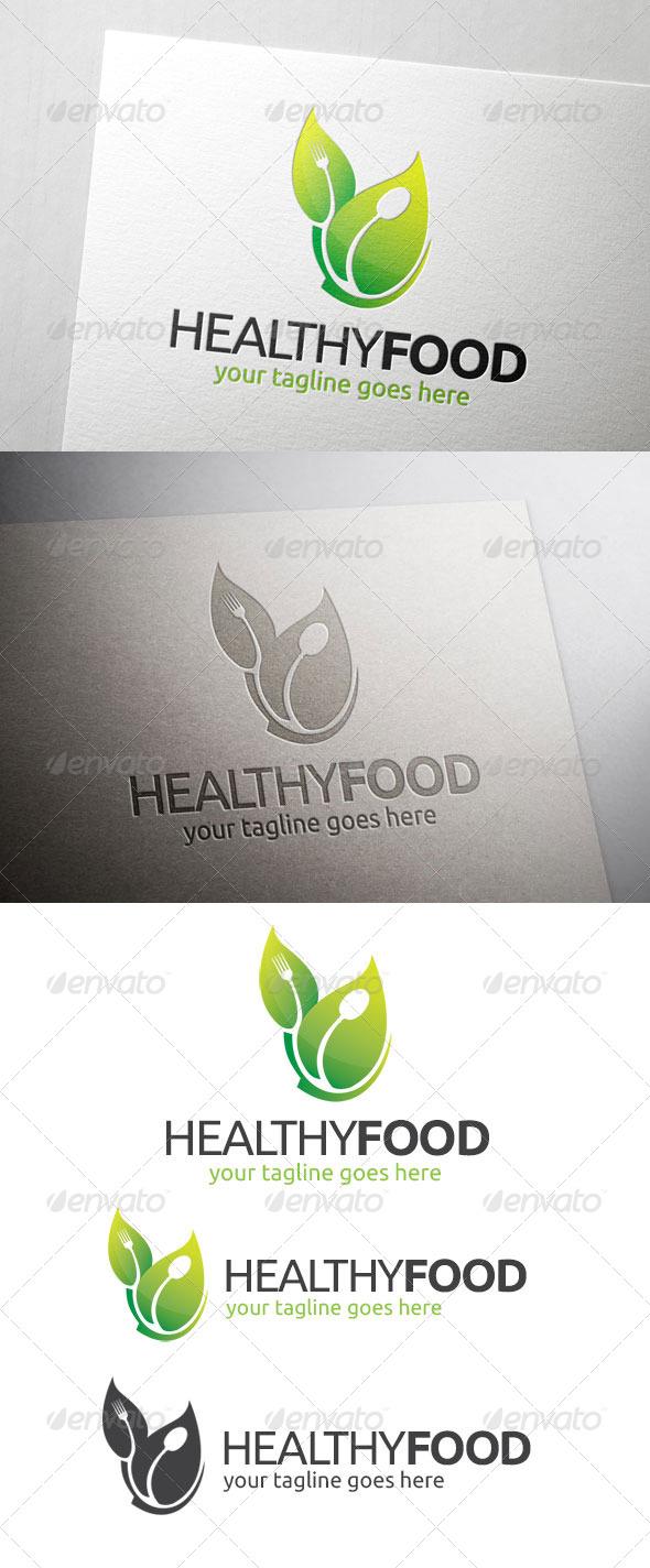 Healthy Food Logo - Food Logo Templates