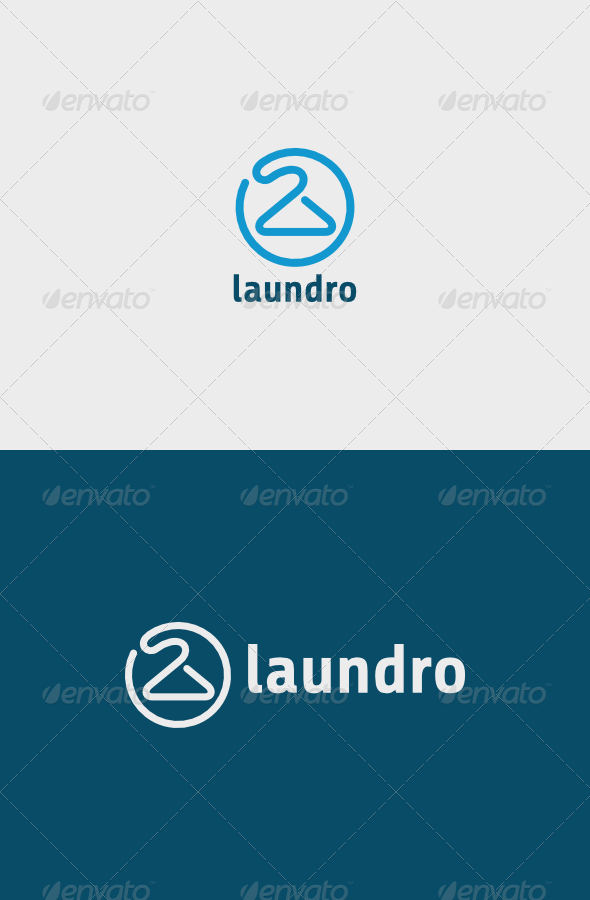 Laundro Logo - Objects Logo Templates