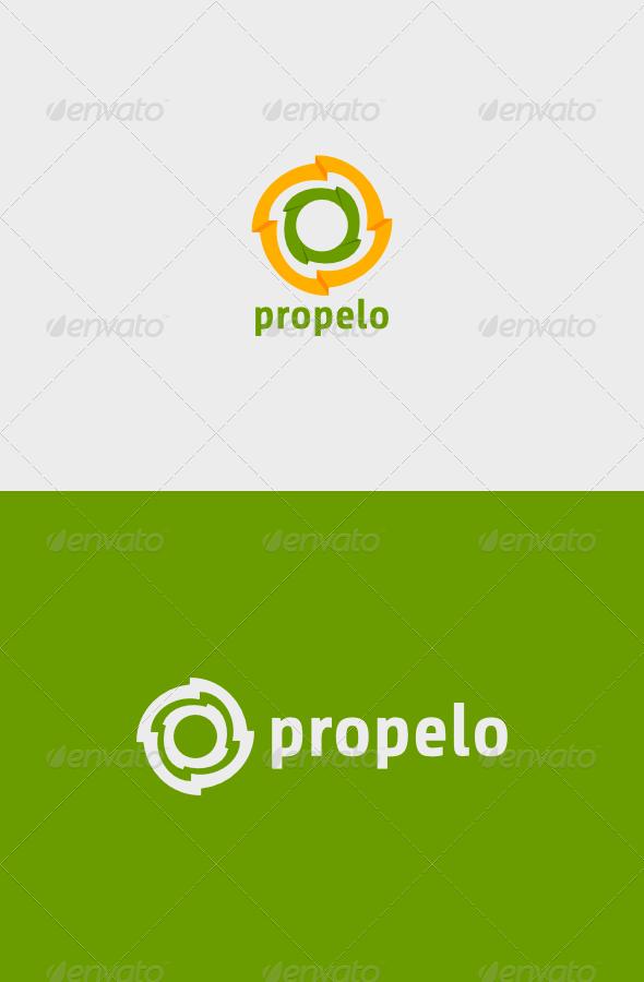 Propelo Logo - Abstract Logo Templates