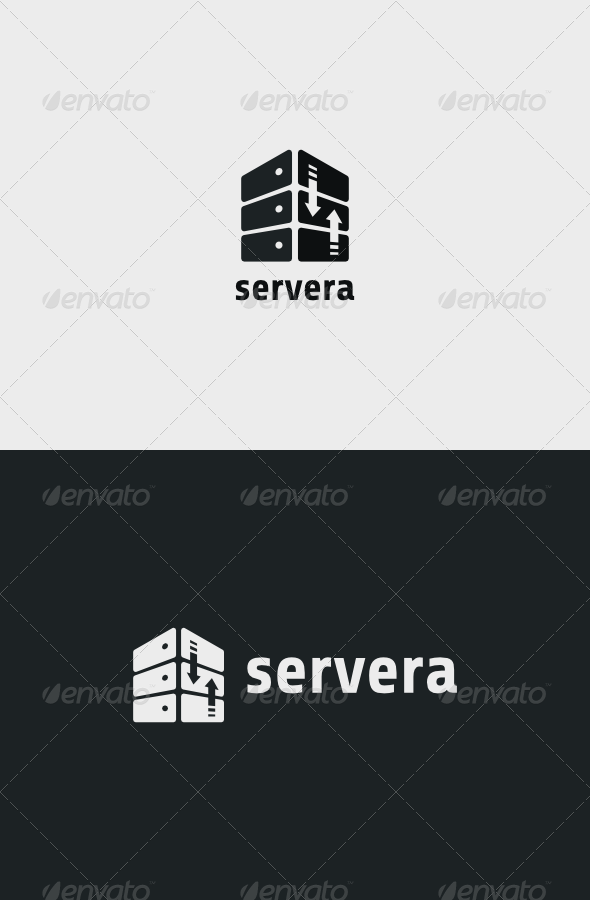 Servera Logo - Objects Logo Templates