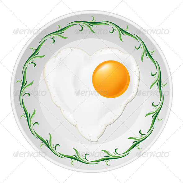 Fried Egg - Miscellaneous Vectors