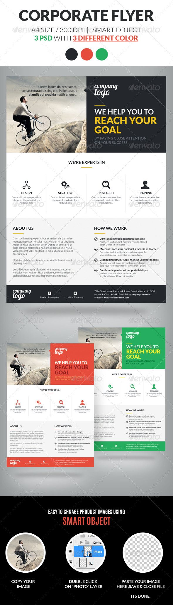 Corporate Flyer Template Vol 2 - Corporate Flyers