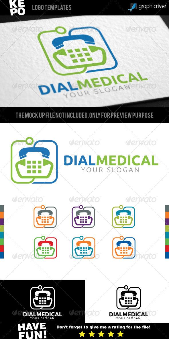 Dial Medical Logo - Symbols Logo Templates