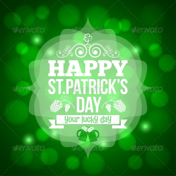 Saint Patrick's Day Beer Mug Background - Miscellaneous Seasons/Holidays
