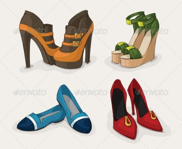 Fashion Women's Shoes Collection - Retail Commercial / Shopping