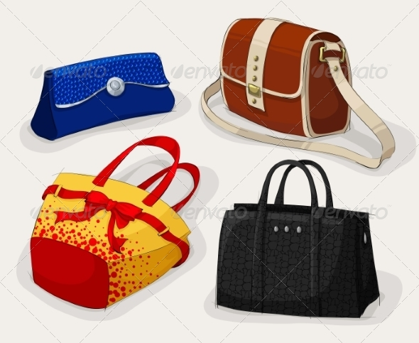Collection of Classic Women's Bags - Retail Commercial / Shopping