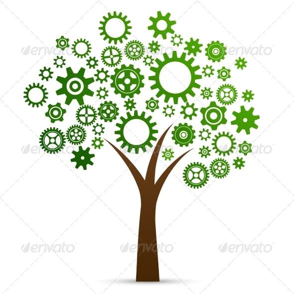 Industrial Innovation Concept Tree - Concepts Business