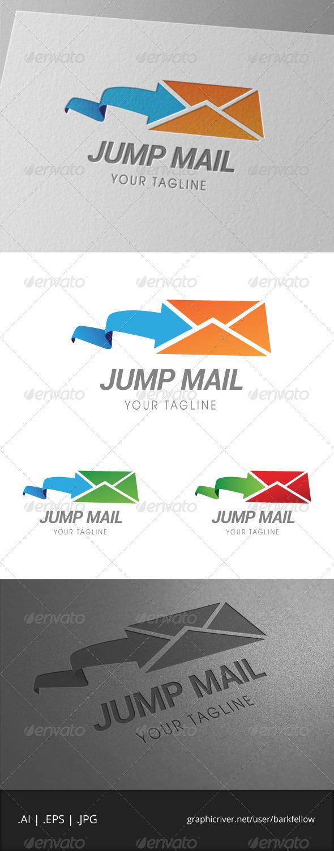 Jump Mail Logo - Symbols Logo Templates