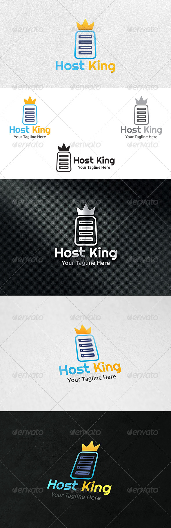 Host King - Logo Template - Symbols Logo Templates