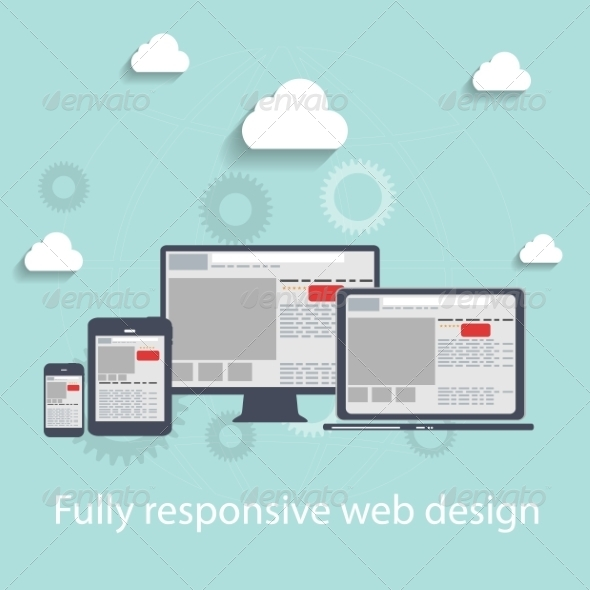 Responsive Web Design Icons - Web Technology
