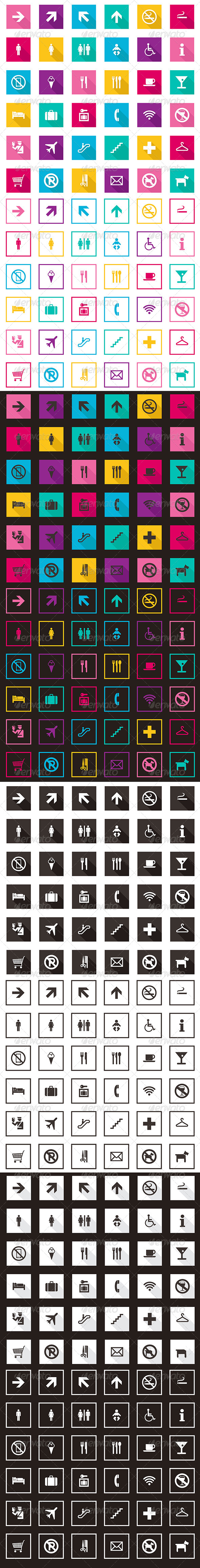 Travel And Tourism Icons Collection - Icons