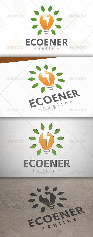 Eco Energy Logo - Symbols Logo Templates