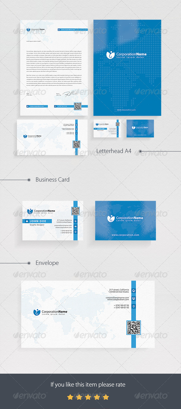 Corporate Pack - Corporate Business Cards