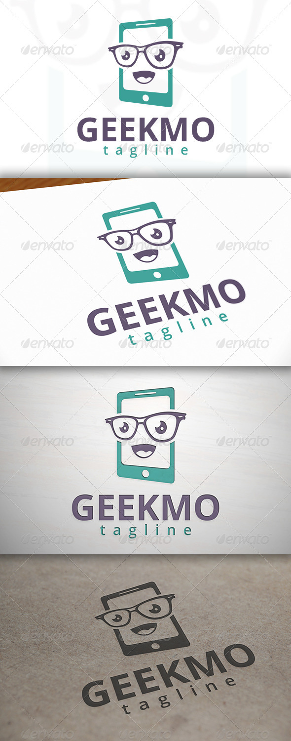 Geek Mobile Logo - Objects Logo Templates