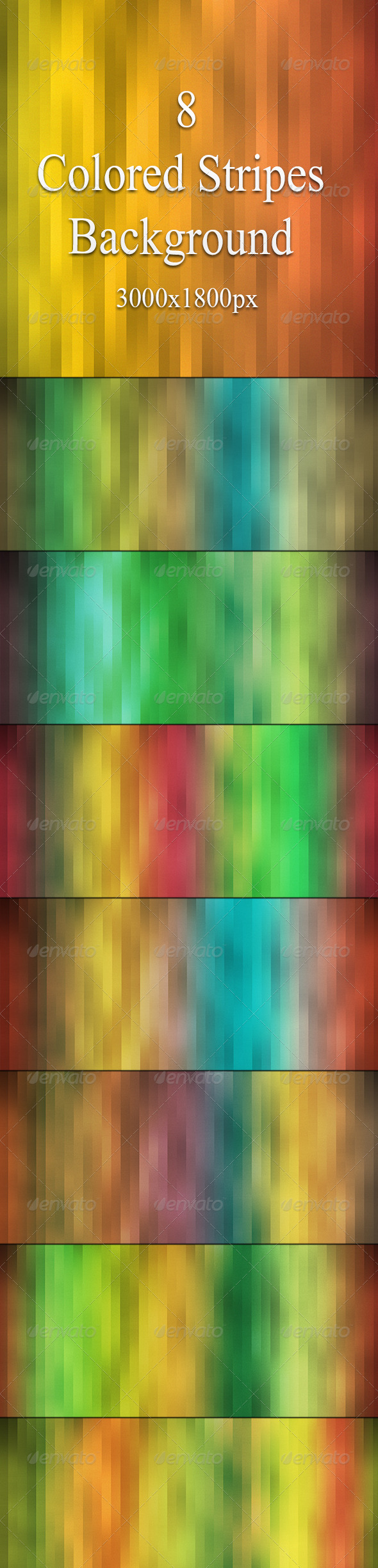 Colored Stripes Background - Abstract Backgrounds