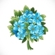 Bouquet of Blue Forget-Me-Not - GraphicRiver Item for Sale
