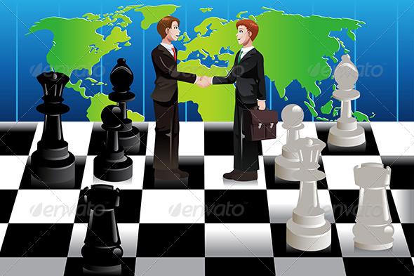 Business Merger Concept - Concepts Business