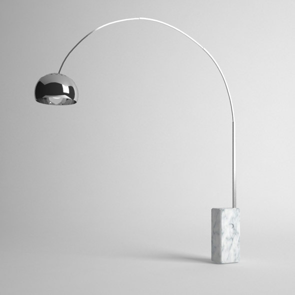 Arco Floor Lamp - 3DOcean Item for Sale