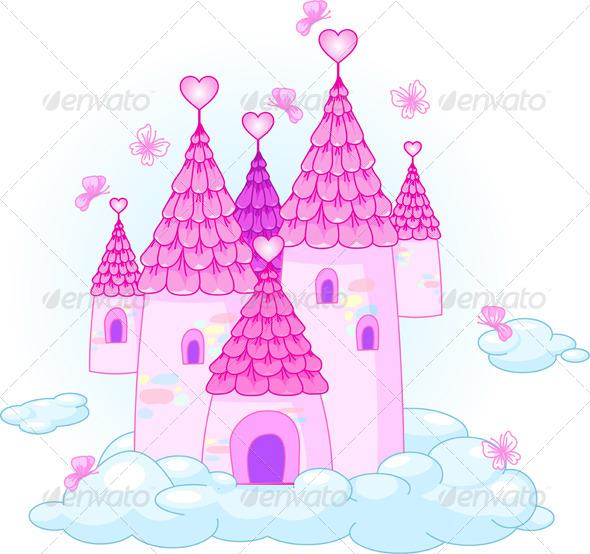 Sky Castle - Buildings Objects