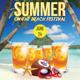 Summer Festival Flyer Template - GraphicRiver Item for Sale