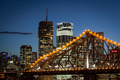 Brisbane Skyline At Dusk - PhotoDune Item for Sale