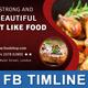 Restaurant Business FB Timeline | Volume 13 - GraphicRiver Item for Sale