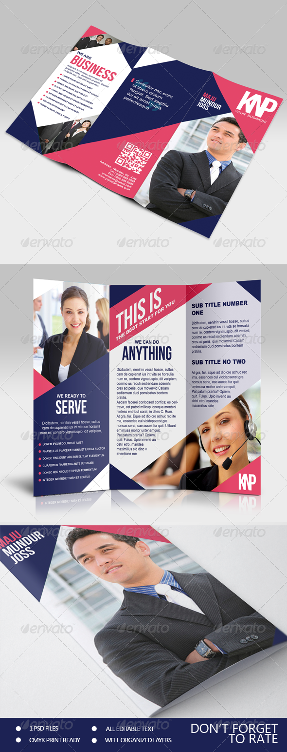 KNP - Multipurpose Trifold Brochure - Corporate Brochures