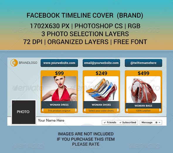 Facebook Timeline Cover (BRAND) - Facebook Timeline Covers Social Media