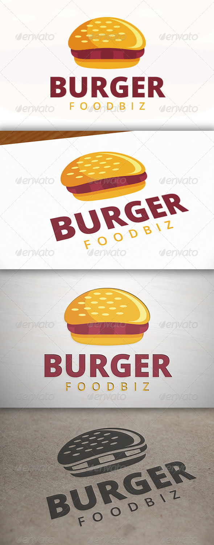 Burger Logo - Food Logo Templates