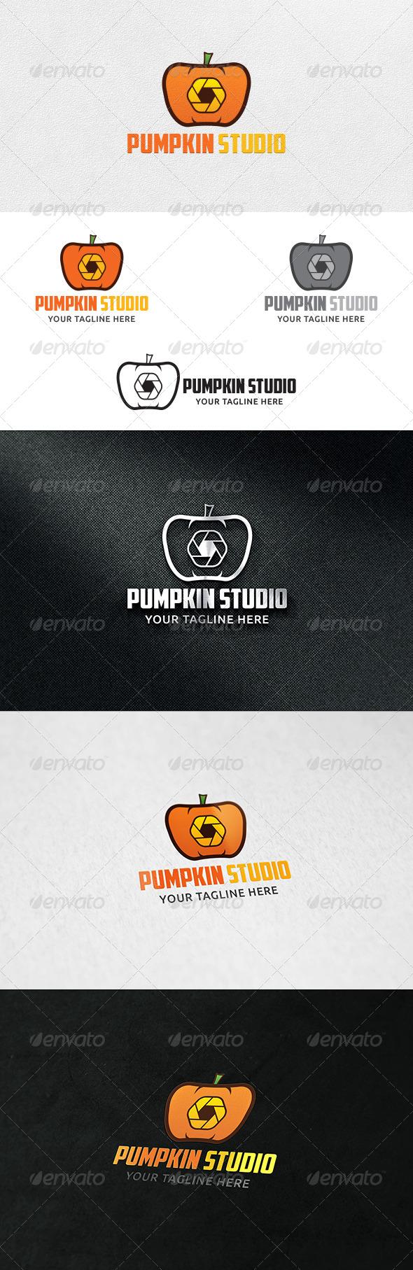 Pumpkin Studio - Logo Template - Symbols Logo Templates