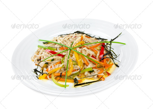 Appetizing noodles - Stock Photo - Images
