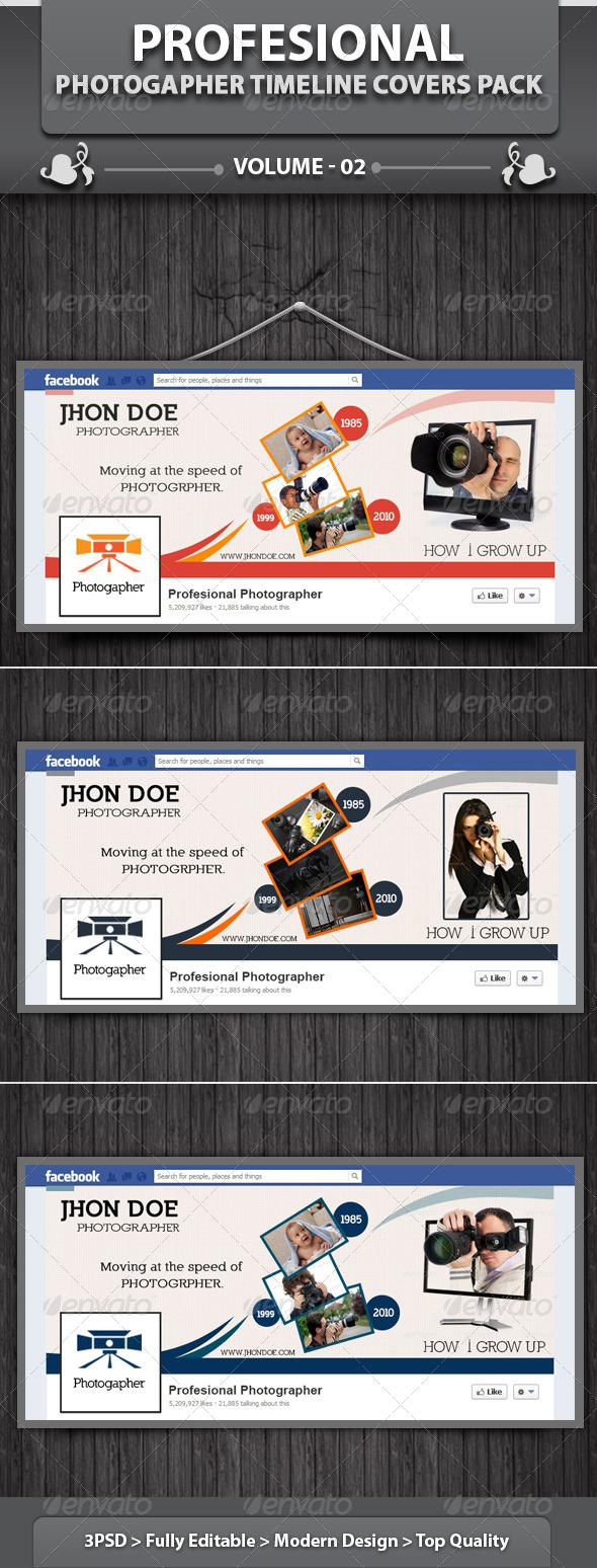 Photogapher FB Timeline | Volume 1 - Facebook Timeline Covers Social Media