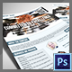 One Page Corporate Flyer for Agencies - GraphicRiver Item for Sale