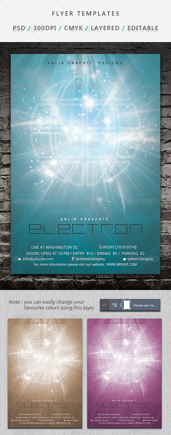 Flyer Template - 03 - Events Flyers