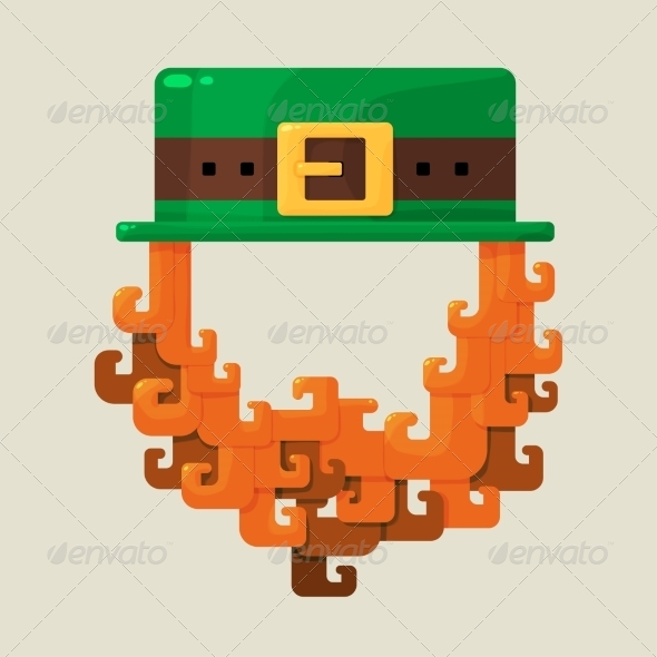 Irish St. Patricks Day Leprechaun - Miscellaneous Seasons/Holidays