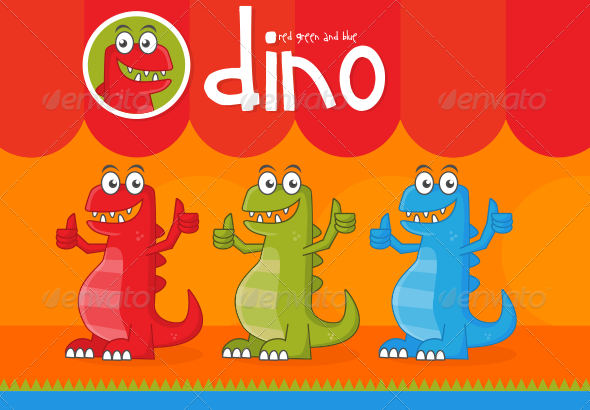 Dino - Animals Characters