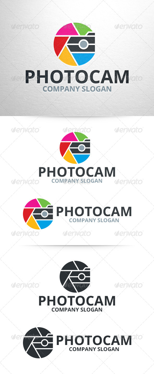Photo Cam - Photography Logo - Objects Logo Templates