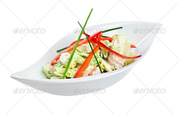 Fresh salad - Stock Photo - Images