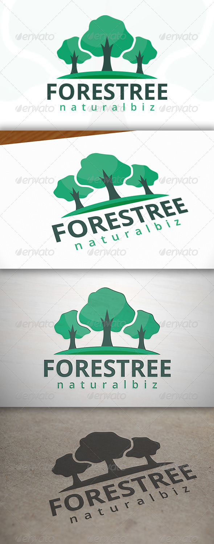 Forest Media Logo - Nature Logo Templates
