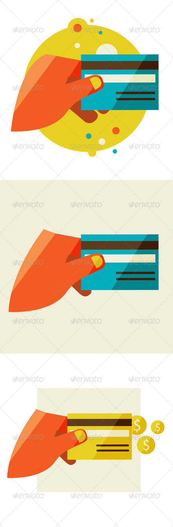 Hand Holding Credit Card - Concepts Business