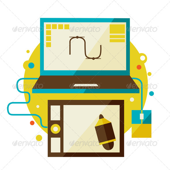 Digital Tablet And Computer - Computers Technology