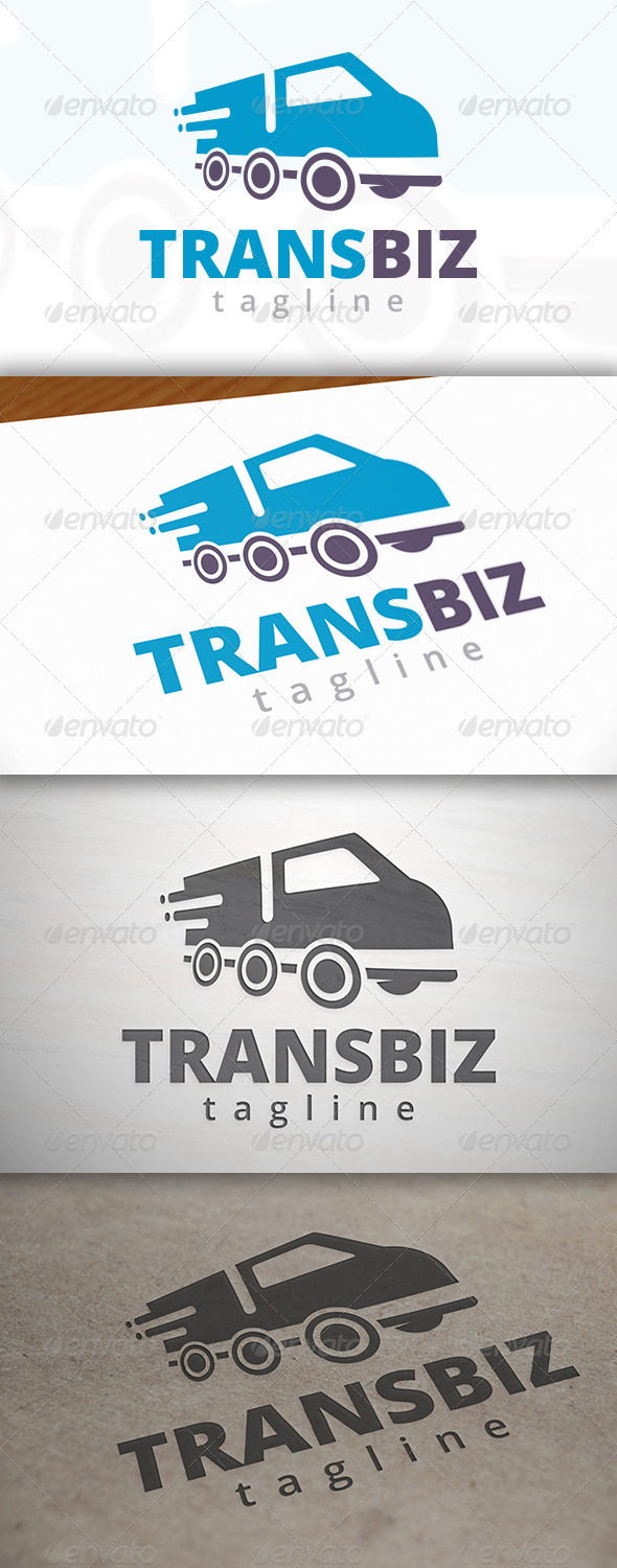 Transport Truck Logo - Objects Logo Templates