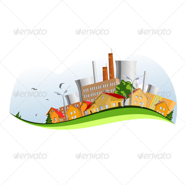 Factory in the City - Industries Business