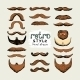 Mustaches and Beards - GraphicRiver Item for Sale